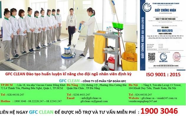 Công ty vệ sinh GFC CLEAN