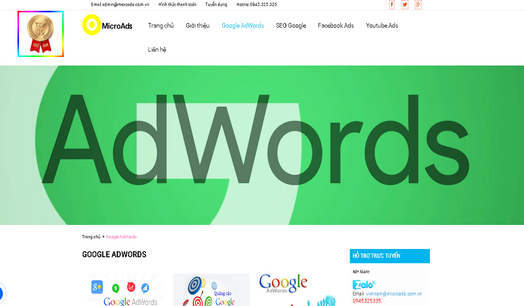 google-adswords-cong-ty-micro-ads