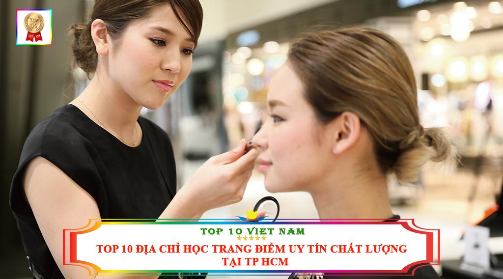 TOP 10 ĐỊA CHỈ HỌC TRANG ĐIỂM UY TÍN CHẤT LƯỢNG TẠI TP HCM