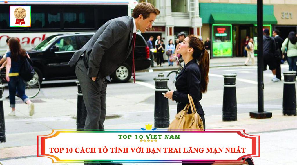 TOP 10 CÁCH TỎ TÌNH VỚI BẠN TRAI LÃNG MẠN NHẤT