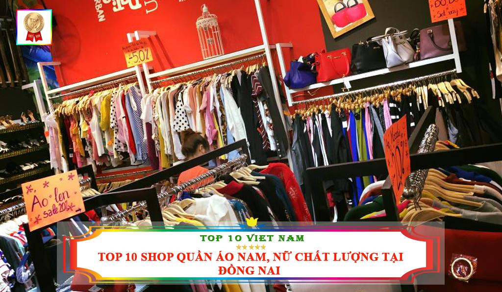 TOP 10 SHOP QUẦN ÁO NAM NỮ CHẤT LƯỢNG TẠI ĐỒNG NAI