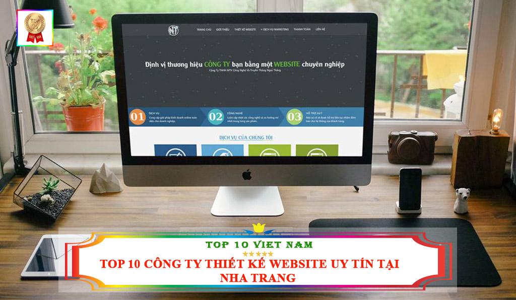TOP 10 CÔNG TY THIẾT KẾ WEBSITE CHUYÊN NGHIỆP TẠI NHA TRANG