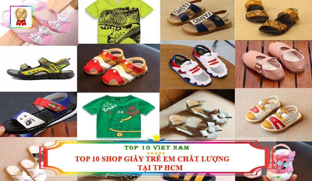 TOP 10 SHOP BÁN GIẦY TRẺ EM CHẤT LƯỢNG TẠI TP HCM
