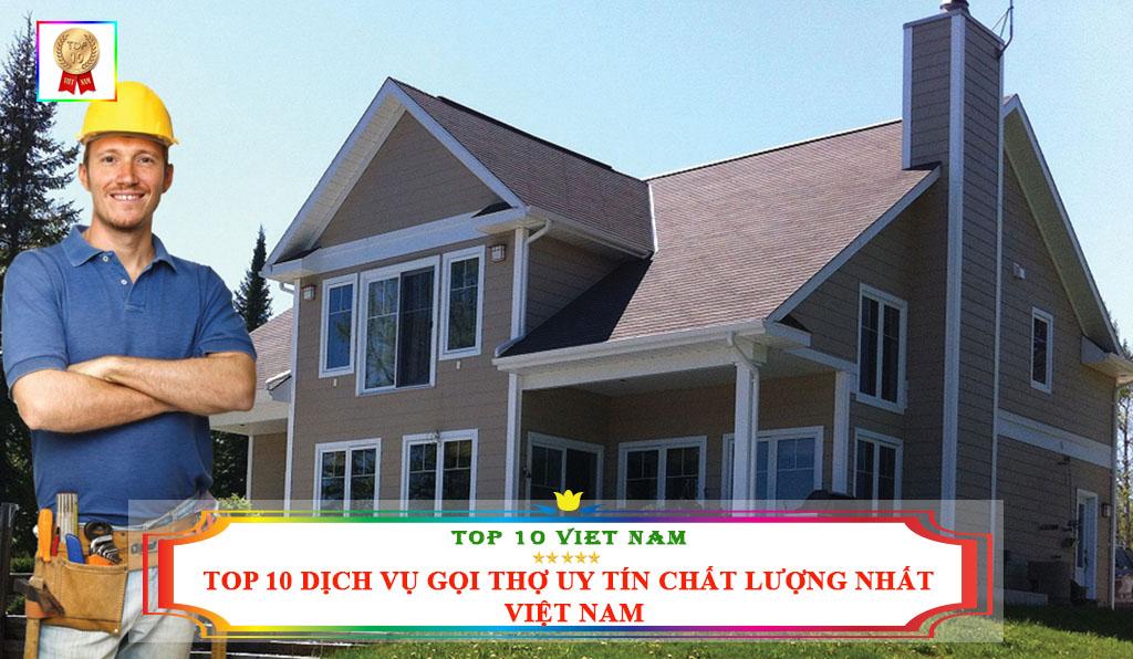 TOP 10 DỊCH VỤ GỌI THỢ UY TÍN CHẤT LƯỢNG NHẤT VIỆT NAM