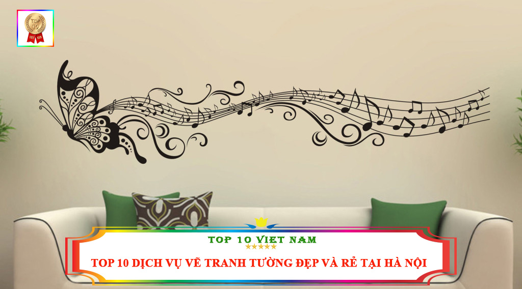 TOP 10 DỊCH VỤ VẼ TRANH TƯỜNG ĐẸP VÀ RẺ TẠI HÀ NỘI