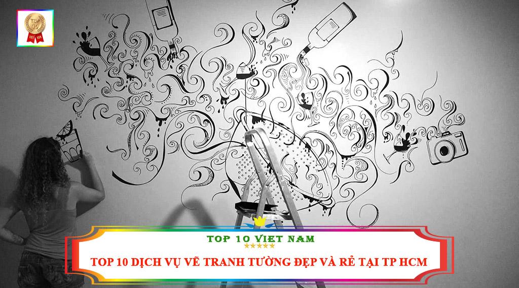 TOP 10 DỊCH VỤ VẼ TRANH TƯỜNG ĐẸP VÀ RẺ TẠI TP HCM
