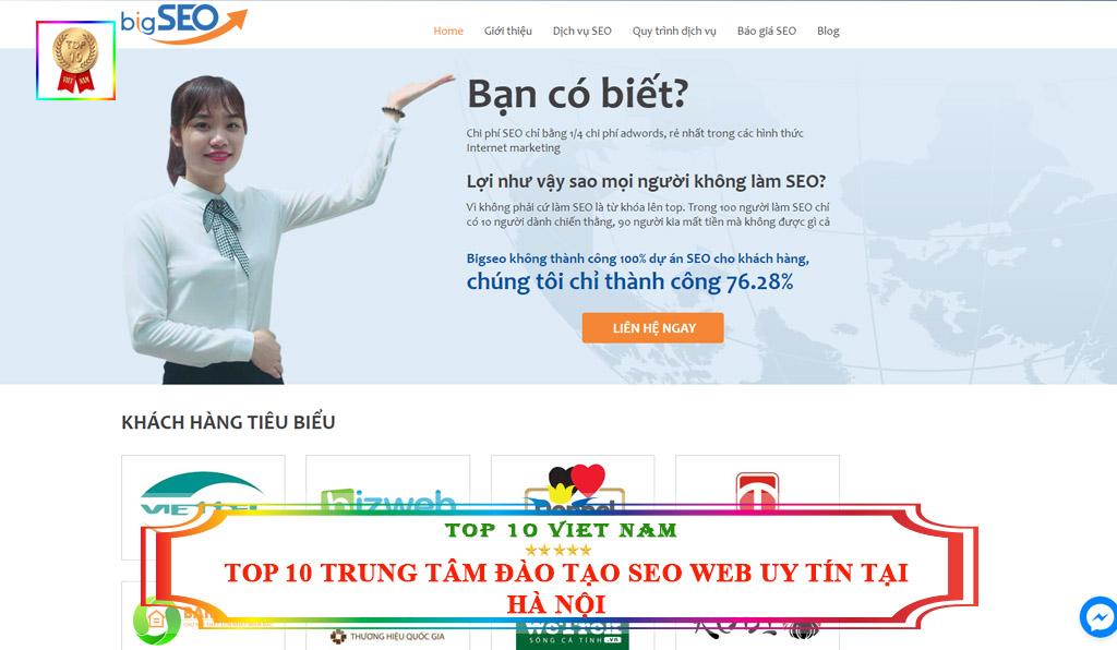 Trung tâm đào tạo seo website Bigseo