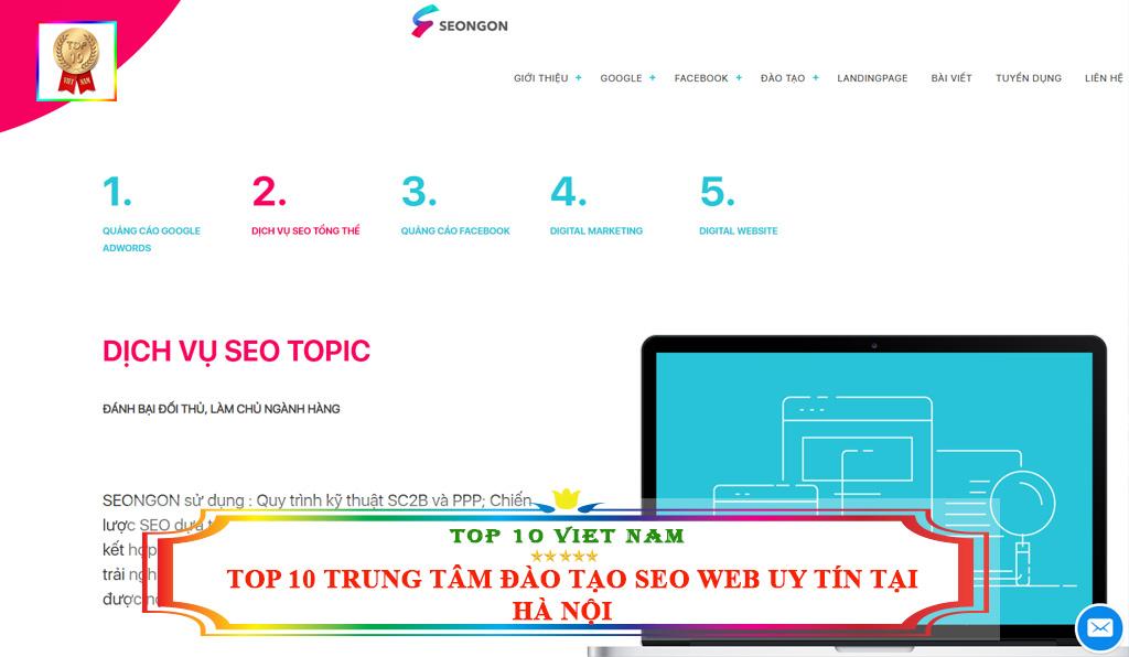Trung tâm đào tạo seo website Seo Ngon