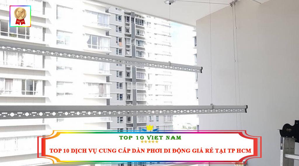 TOP 10 DỊCH VỤ CUNG CẤP DÀN PHƠI DI ĐỘNG GIÁ RẺ TẠI TP HCM