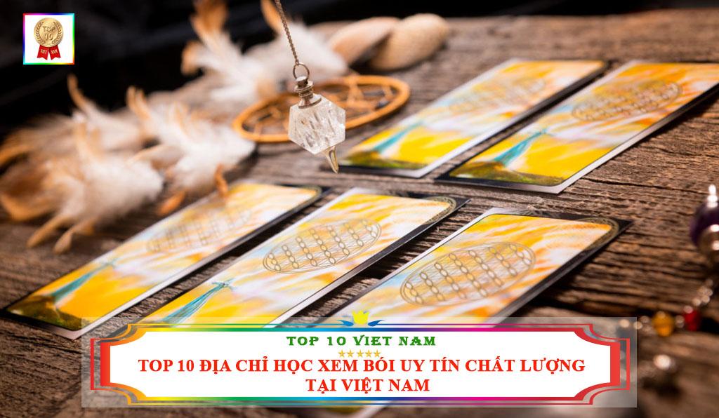 Top 10 địa chỉ học xem bói uy tín chất lượng tại Việt Nam