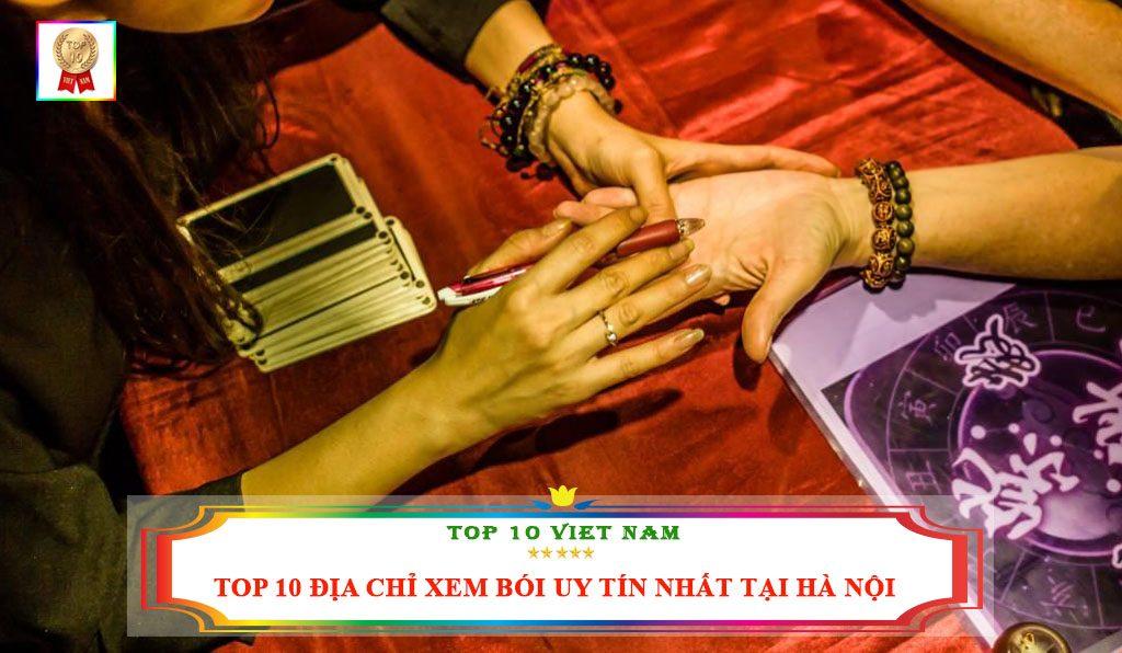 Top 10 địa chỉ xem bói uy tín nhất tại Hà Nội