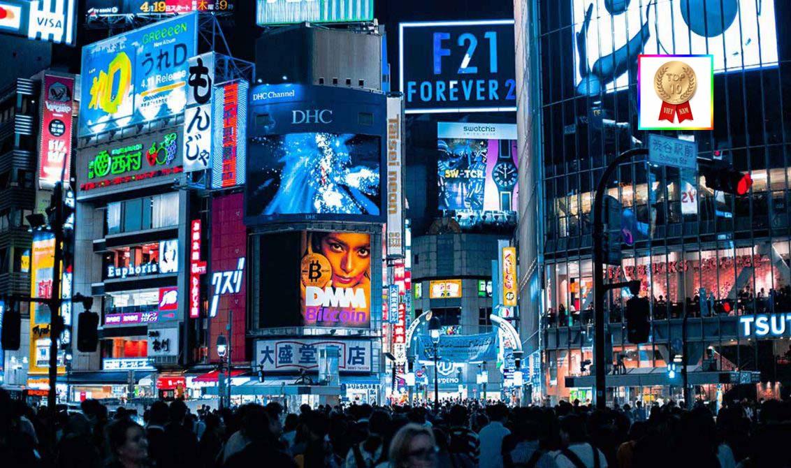 Quảng cáo ngoài trời phát triển ở các nước