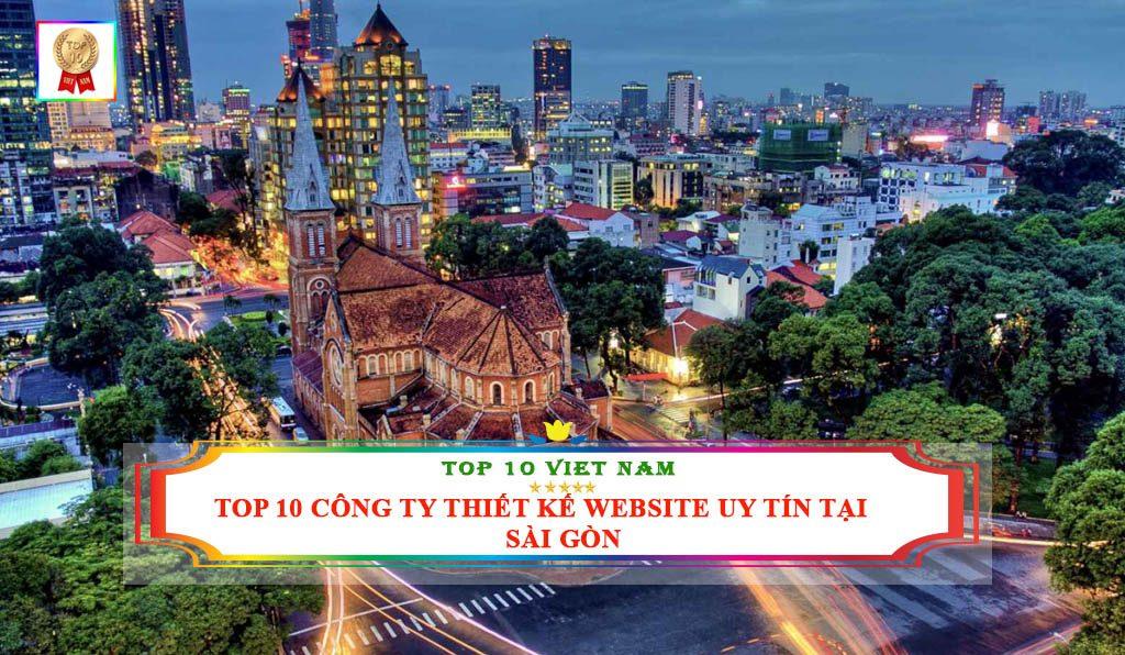 Công ty thiết kế website uy tín chất lượng tại Sài Gòn