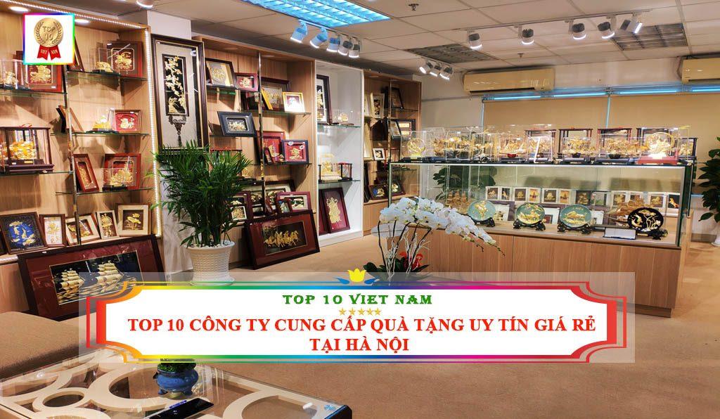 Công ty quà tặng uy tín giá rẻ tại Hà Nội