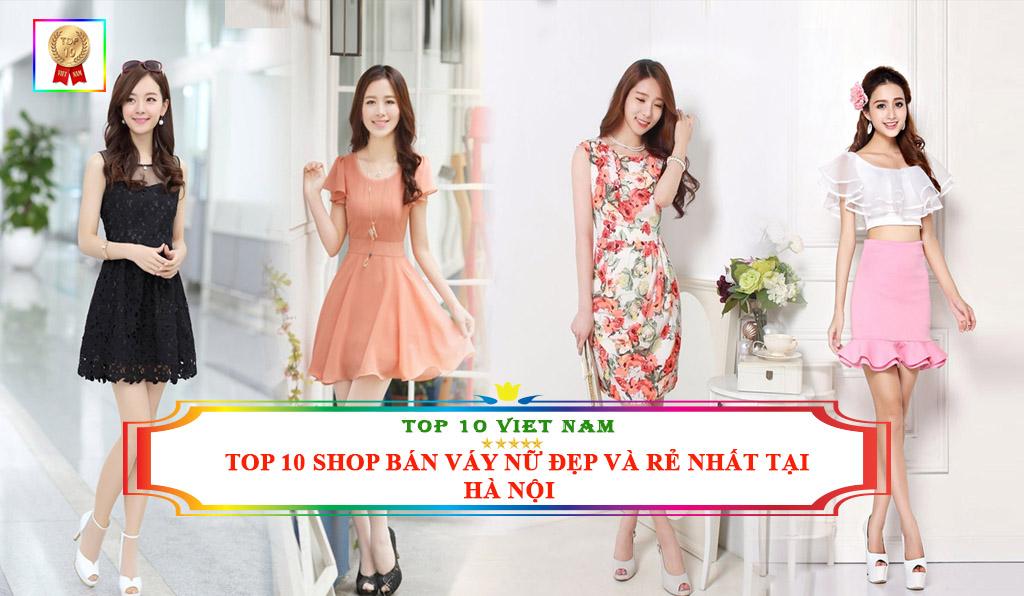 Shop bán váy nữ đẹp và rẻ nhất tại Hà Nội