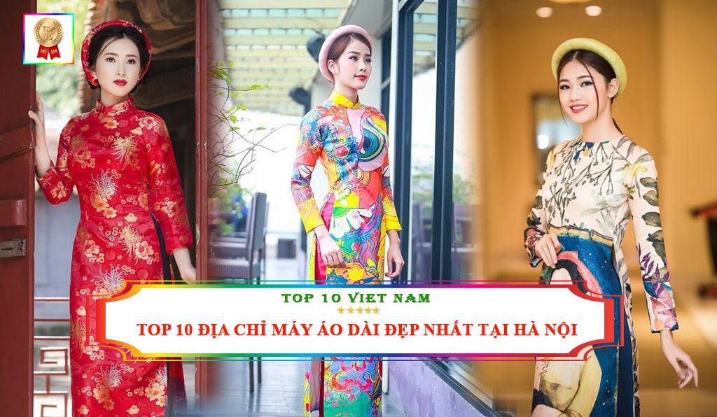 Địa chỉ may áo dài đẹp nhất tại Hà Nội