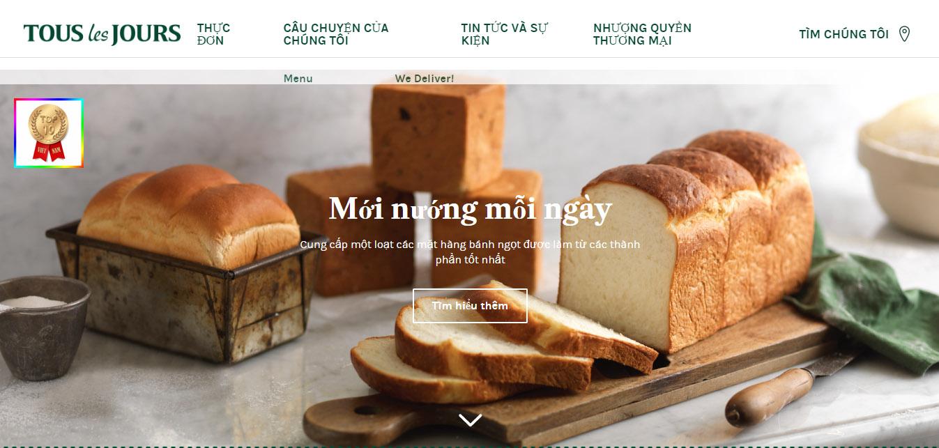 Cửa Hàng Bánh Tous Les Jours