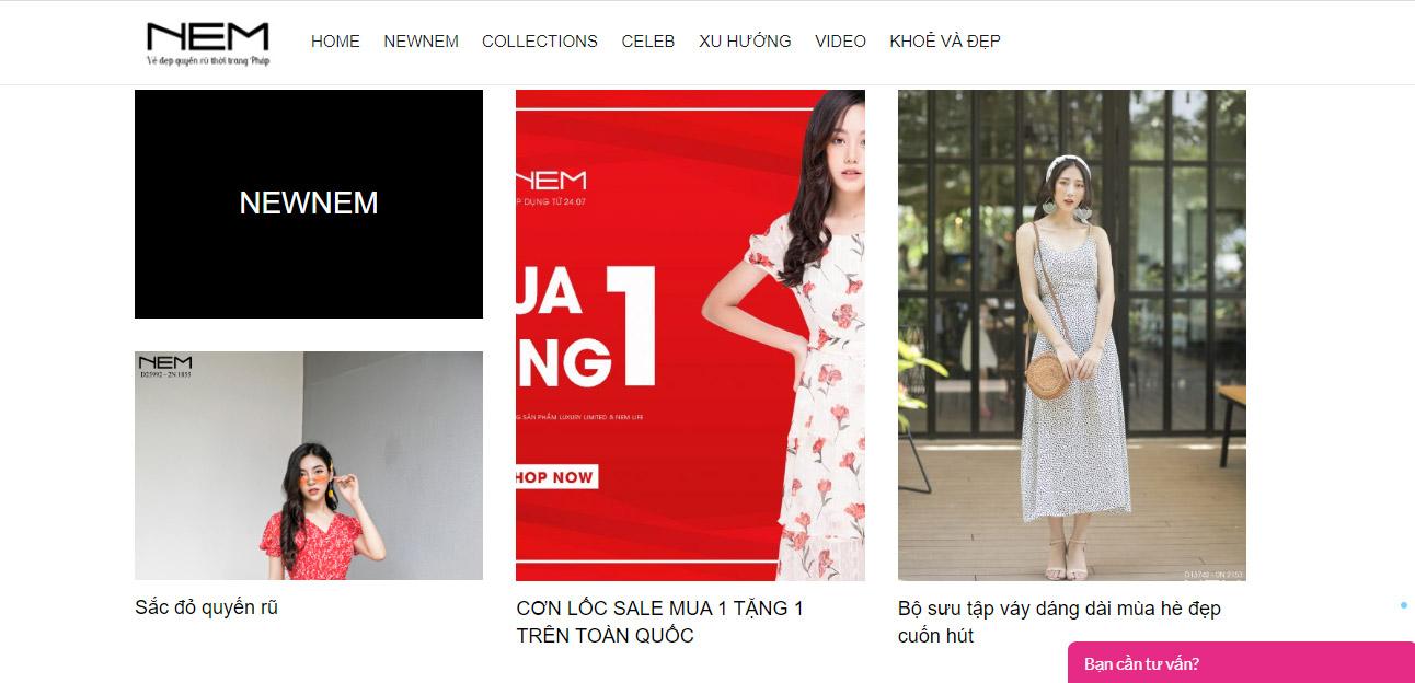 Chuỗi cửa hàng NEM tại Việt Nam