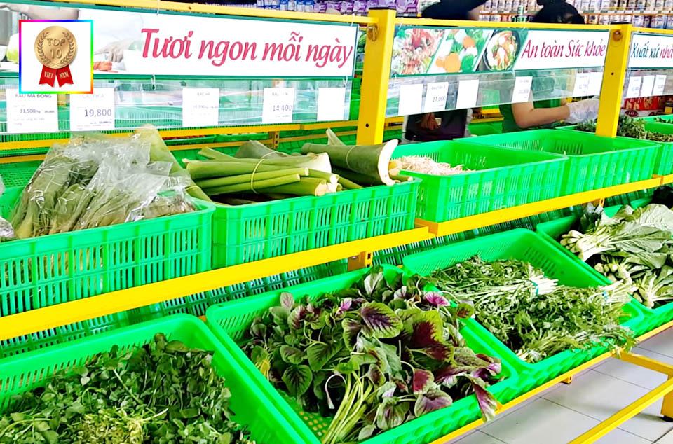 Danh sách chuỗi siêu thị Bách Hóa Xanh