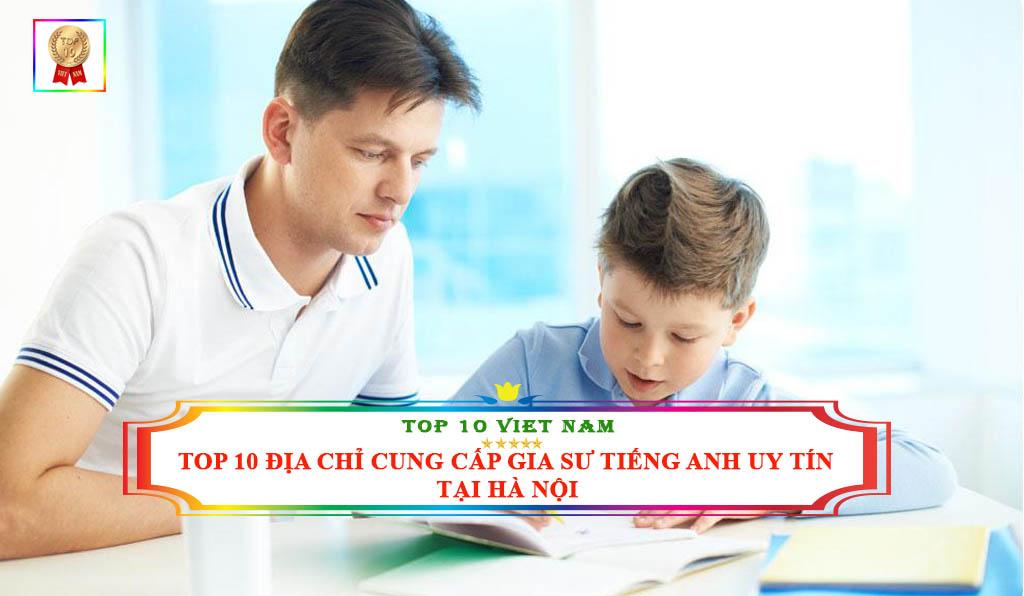 Cung cấp gia sư tiếng Anh tại Hà Nội