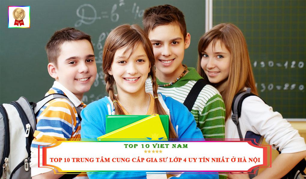 Gia sư lớp 4 uy tín tại Hà Nội