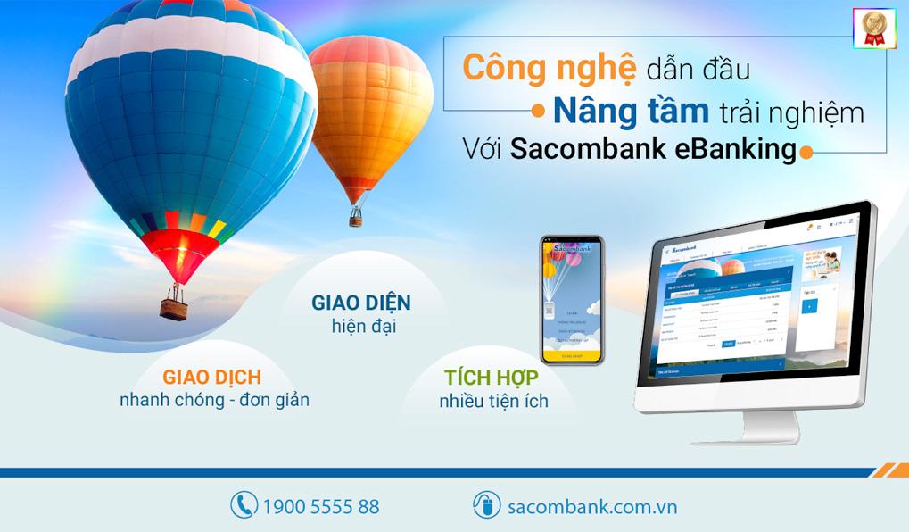 Các sản phẩm của ngân hàng Sacombank