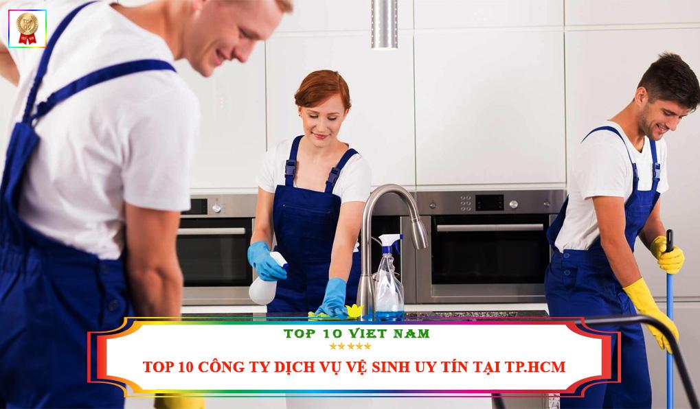 Công ty dịch vụ vệ sinh TPHCM uy tín