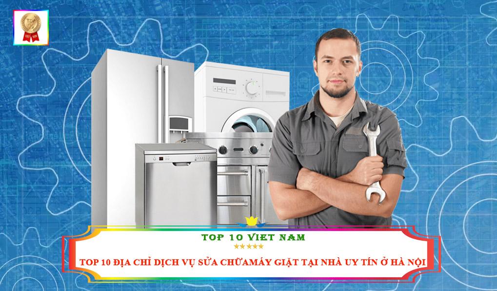 Địa chỉ sửa máy giặt Hà Nội uy tín