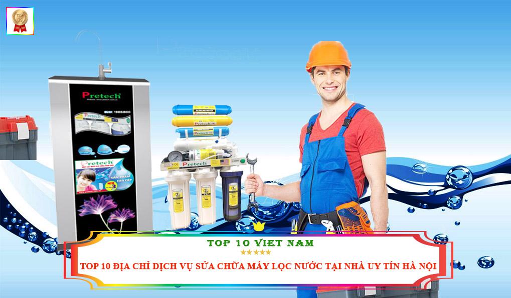 Sữa chữa máy lọc nước tại nhà tốt nhất Hà Nội