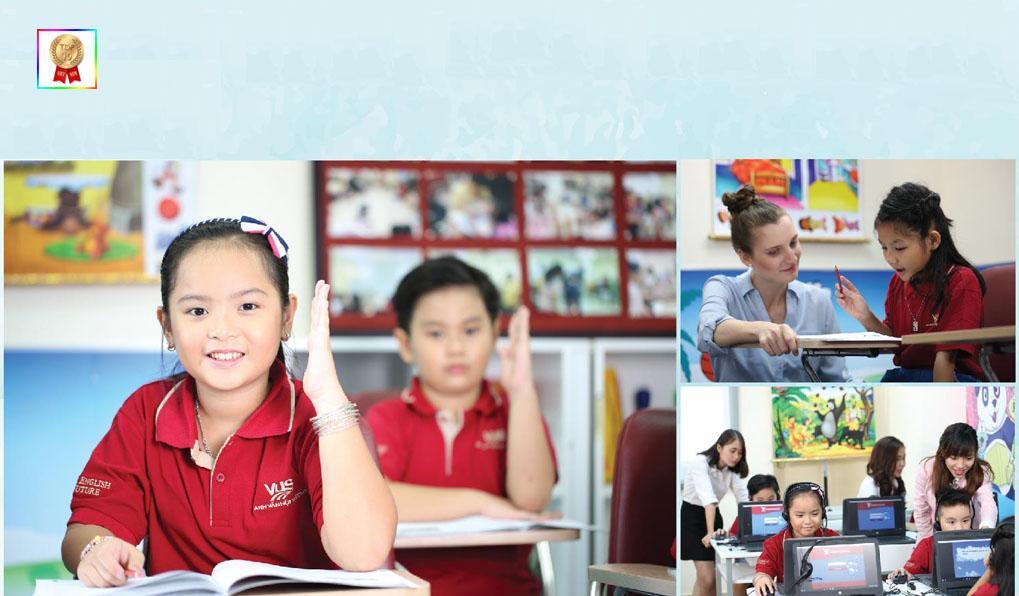 trung tâm tiếng anh trẻ em tại Việt Nam