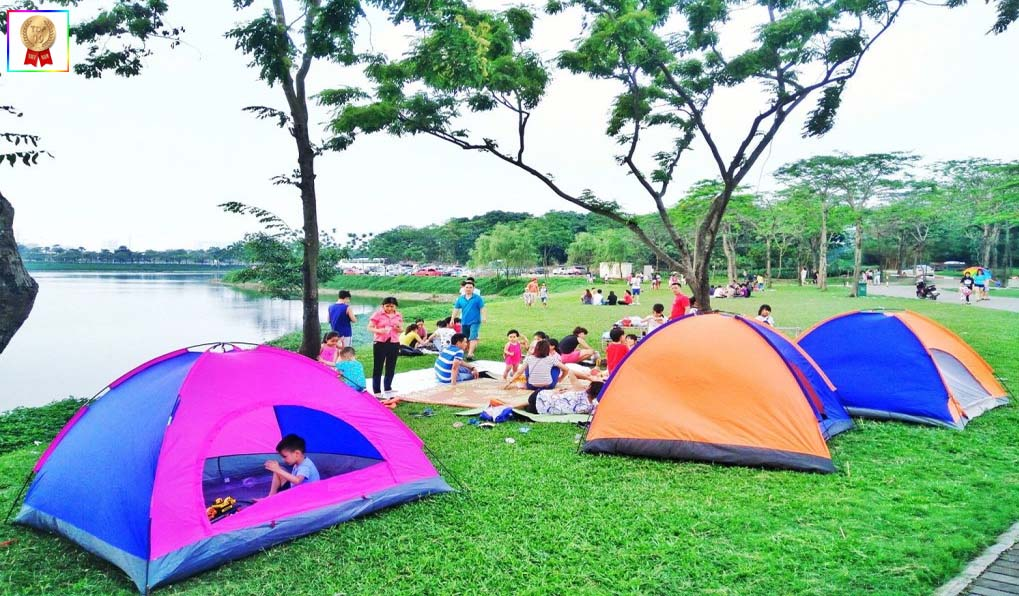 Địa điểm picnic Hà Nội - công viên Yên Sở
