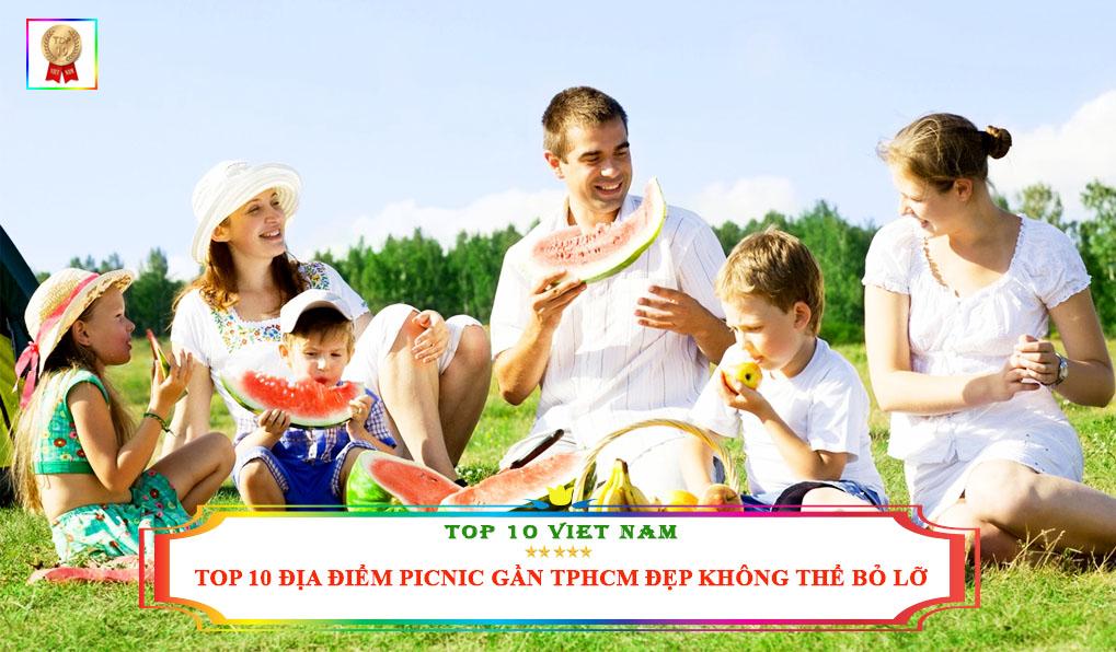 địa điểm picnic gần tphcm