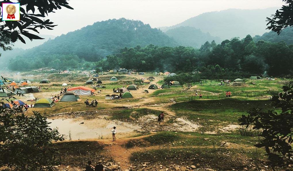 Núi Hàm Lợn - địa điểm picnic